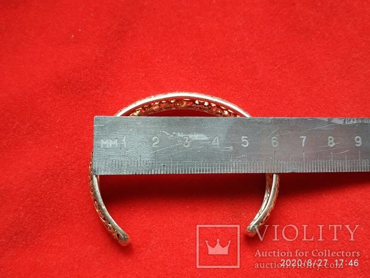 Браслет узоры серебрение, фото №5