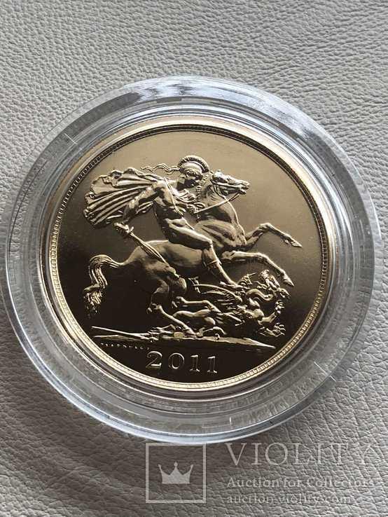 Великобритания 2011 год 5 фунтов золото 917`