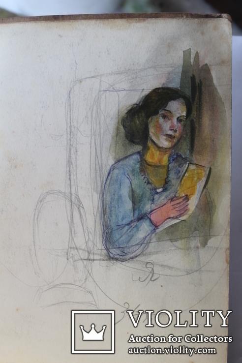 Личный дневник с иллюстрациями Соколова В. Ленинград накануне Отечественной войны, фото №3