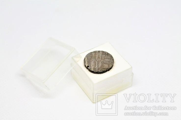 Залізний метеорит Gibeon 3,9 грам, з сертифікатом автентичності, фото №2