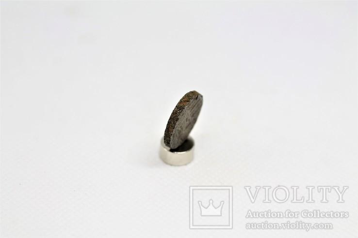 Залізний метеорит Gibeon 3,9 грам, з сертифікатом автентичності, фото №5