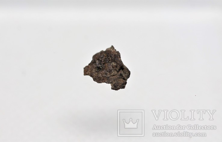 Залізо-кам'яний метеорит Vaca Muerta, 0,23 грам, із сертифікатом, фото №2
