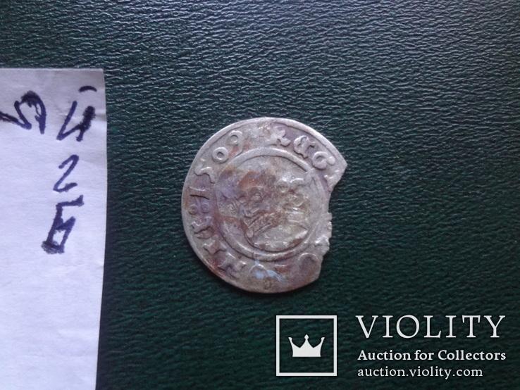 Полугрош  1509  Польша  серебро   (Й.2.6)~, фото №4