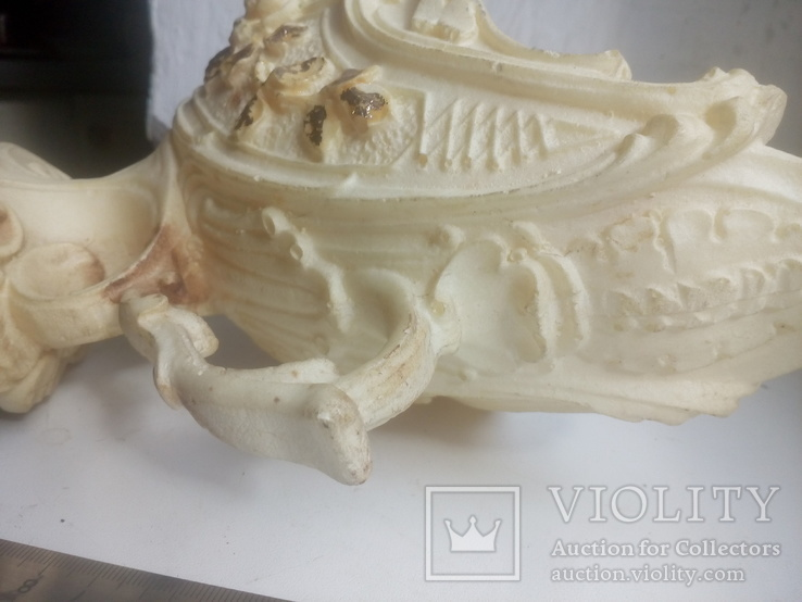 Вазочка- конфетница .под кость, фото №4