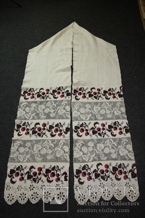 Рушник вышитый  4 метра., фото №2