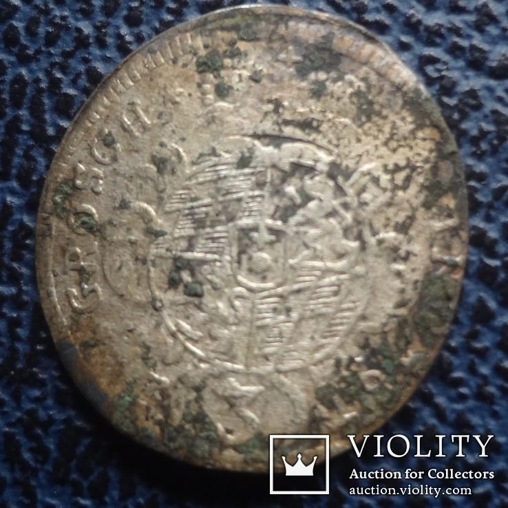 3  крейцера  1729  Бавария  серебро   ($11.1.22)~, фото №3
