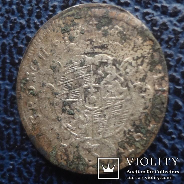 3  крейцера  1729  Бавария  серебро   ($11.1.22)~, фото №4
