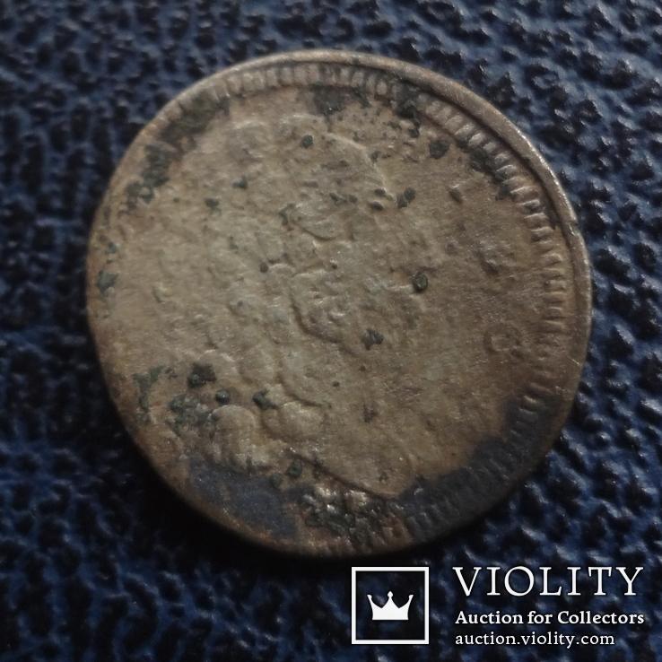 3  крейцера  1729  Бавария  серебро   ($11.1.22)~, фото №6