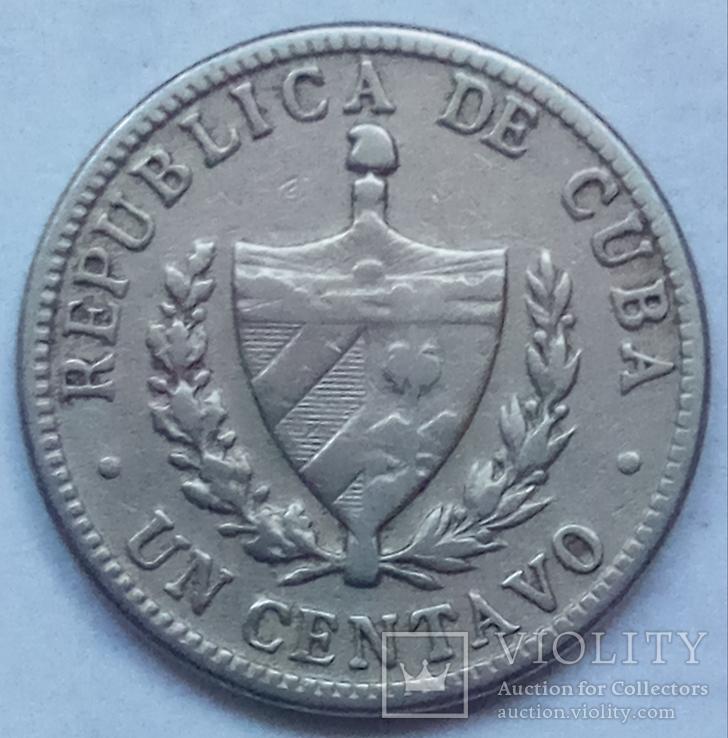 1 сентаво 1946 г. Куба, фото №2