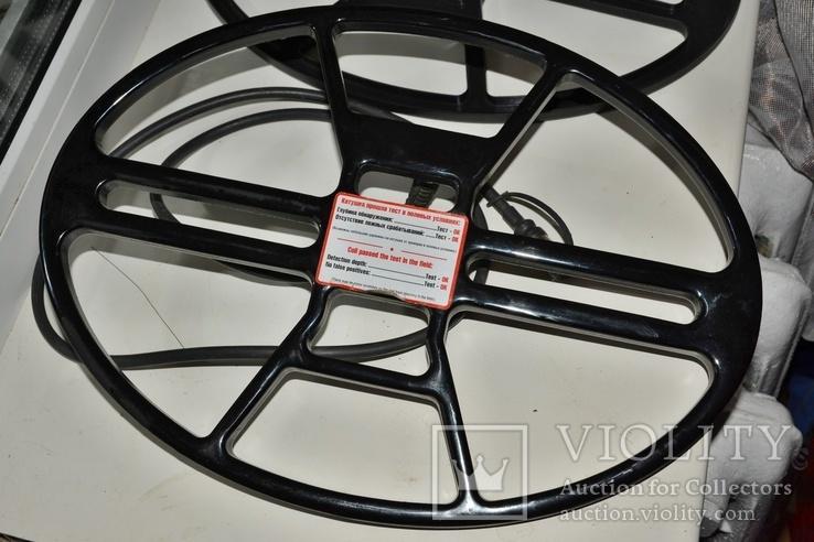 """Катушка NEL Thunder 10.5x14.5"""" Garrett GTI 2500 + защита., фото №6"""