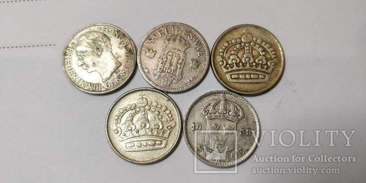 5 монет Скандинавии, фото №2