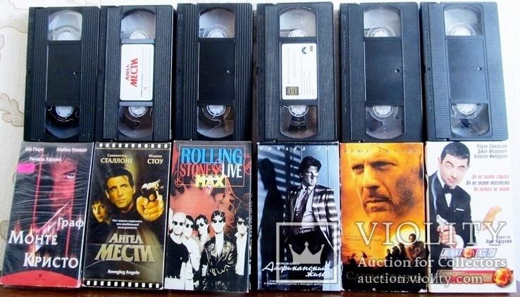 Видиокассеты 42 шт., фото №4