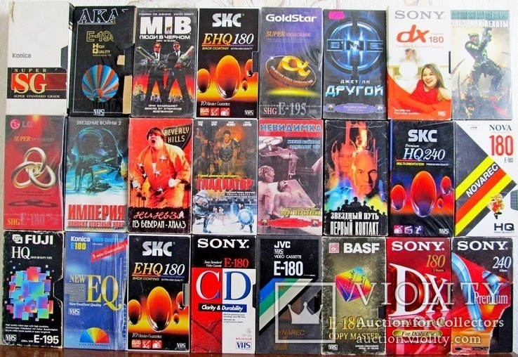 Видиокассеты 42 шт., фото №7