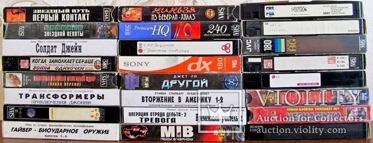 Видиокассеты 42 шт., фото №8