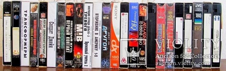 Видиокассеты 42 шт., фото №9
