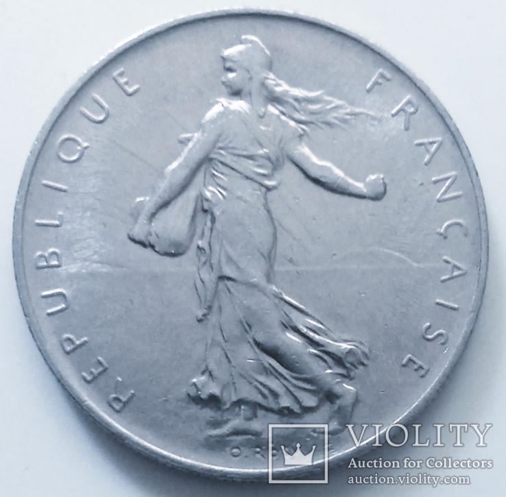 1 франк 1970 г. Франция, фото №2