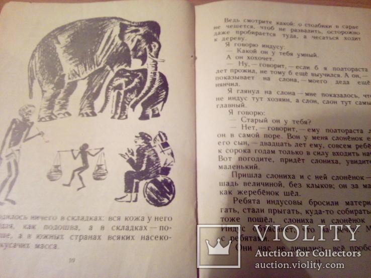 Б.Житков, Про слона, рис.Тырсы, изд. ДЛ 1974, фото №9