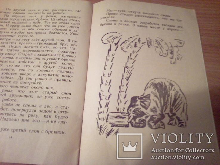 Б.Житков, Про слона, рис.Тырсы, изд. ДЛ 1974, фото №11