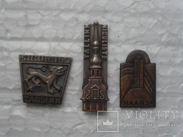 Значки Эстонии., фото №2