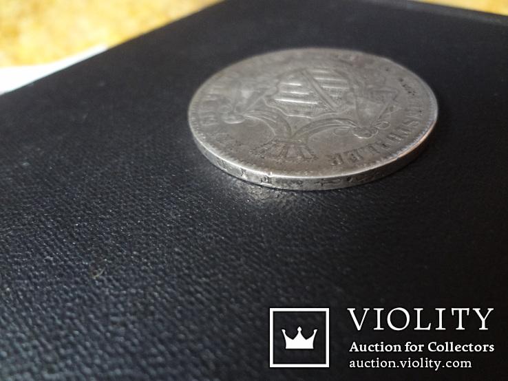 1 талер 1870 Саксен-Кобург Гота серебро   (О.5.7)~, фото №10
