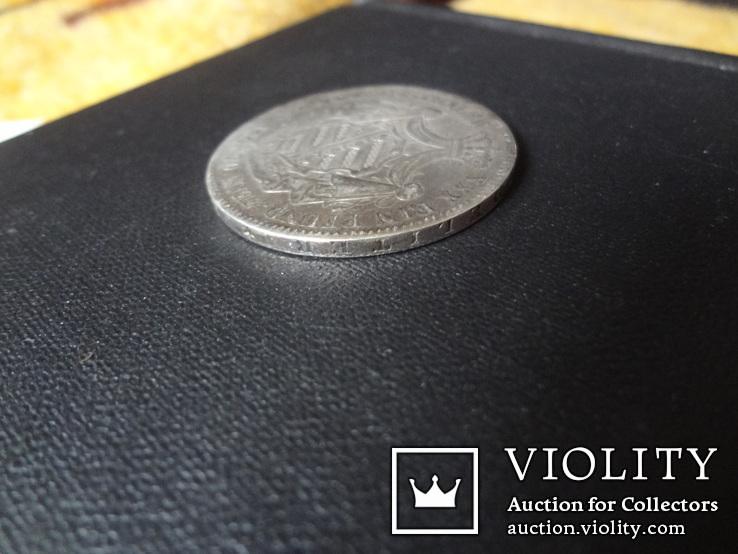 1 талер 1870 Саксен-Кобург Гота серебро   (О.5.7)~, фото №11