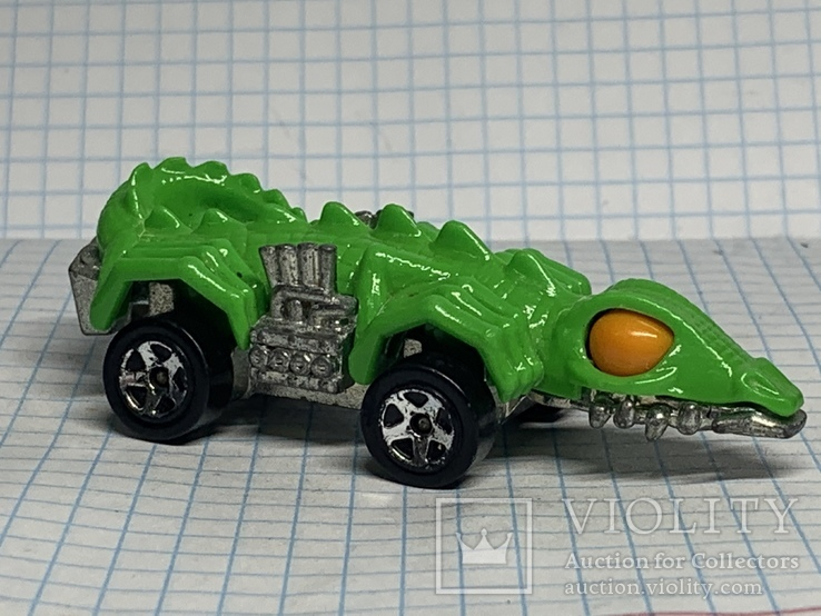 Hot Wheels - Fangster: Dino Riders (alligator) 1985