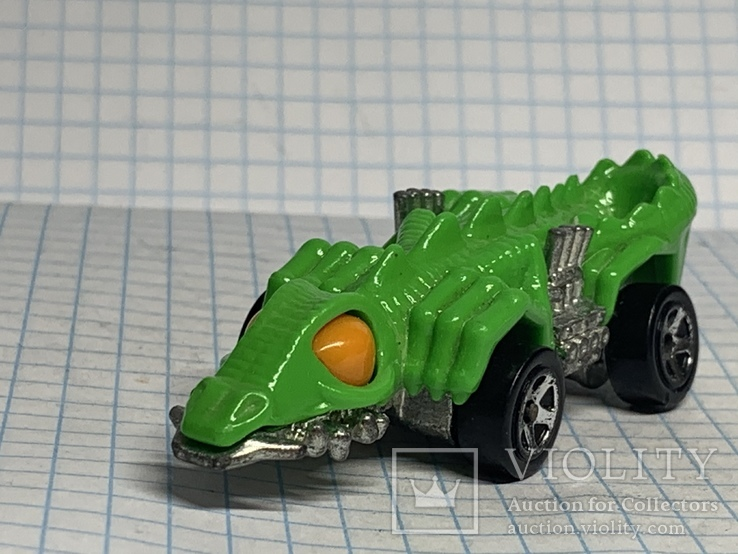 Hot Wheels - Fangster: Dino Riders (alligator) 1985, фото №3