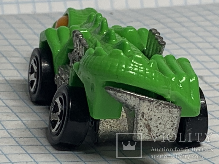 Hot Wheels - Fangster: Dino Riders (alligator) 1985, фото №4