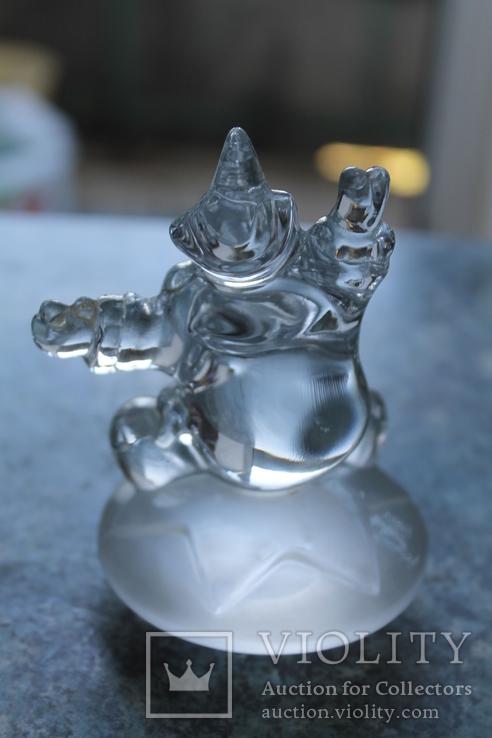 Клоун хрусталь французская компания Cristal d'Arques, фото №7
