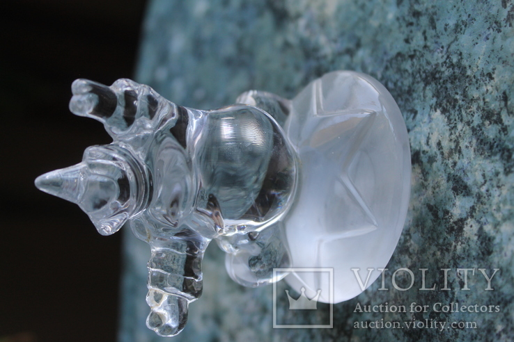 Клоун хрусталь французская компания Cristal d'Arques, фото №8