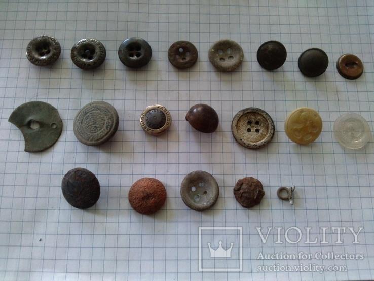 Пуговицы (разные), 20 шт, фото №2