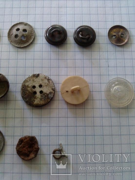 Пуговицы (разные), 20 шт, фото №9