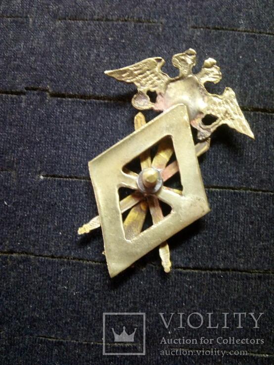 Знак 2 одесской школы  прапорщиков  копия, фото №4