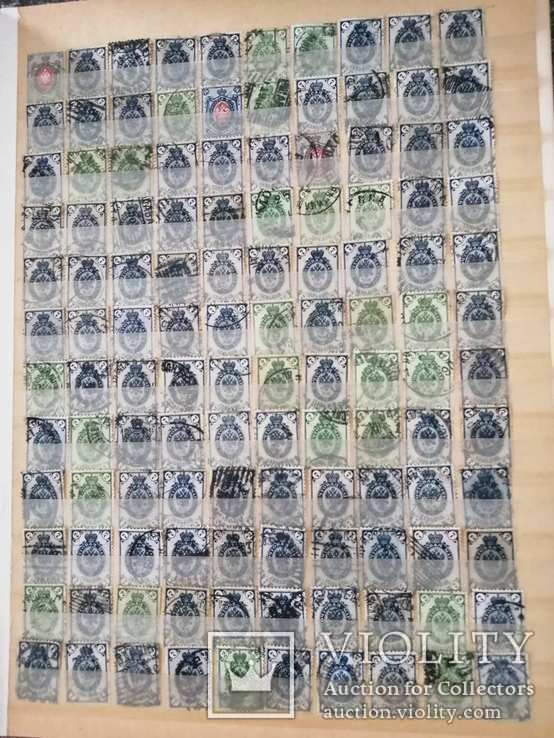 Царская Россия 600 марок + альбом 8 листов ( 16 страниц), фото №5