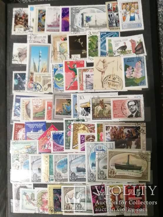 СССР 1000 шт марок + альбом 8 листов ( 16 страниц) Германия