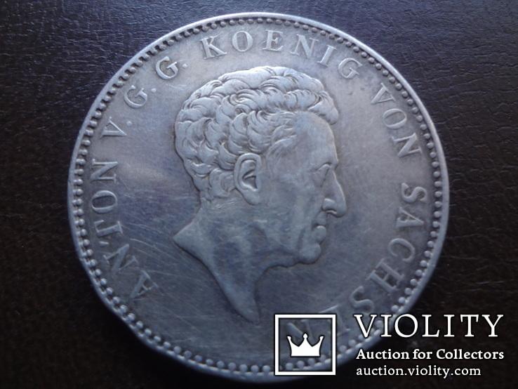 Талер 1832  Саксония  серебро  (А.5.10), фото №2