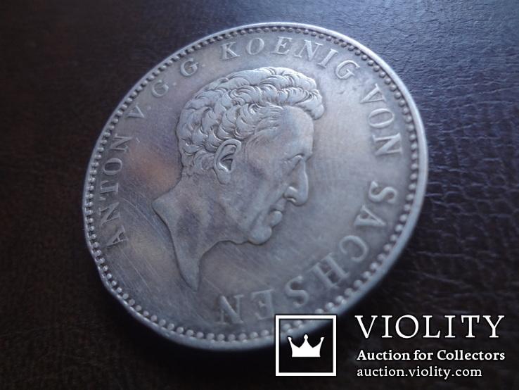 Талер 1832  Саксония  серебро  (А.5.10), фото №3