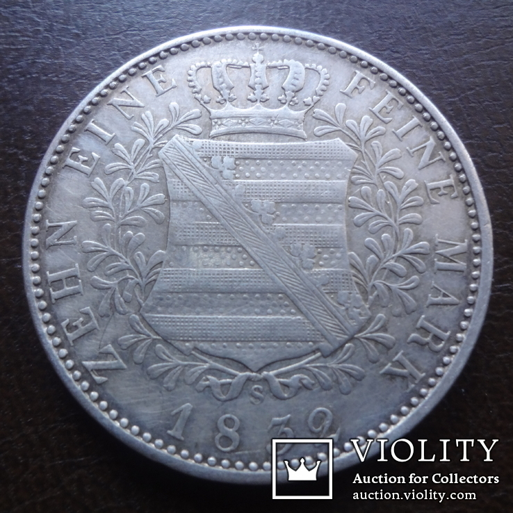 Талер 1832  Саксония  серебро  (А.5.10), фото №4