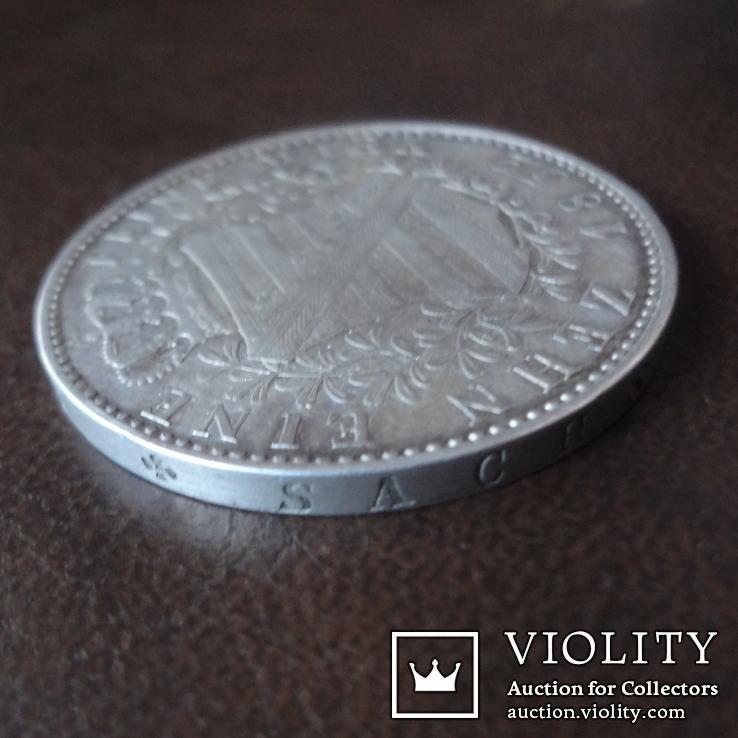 Талер 1832  Саксония  серебро  (А.5.10), фото №6
