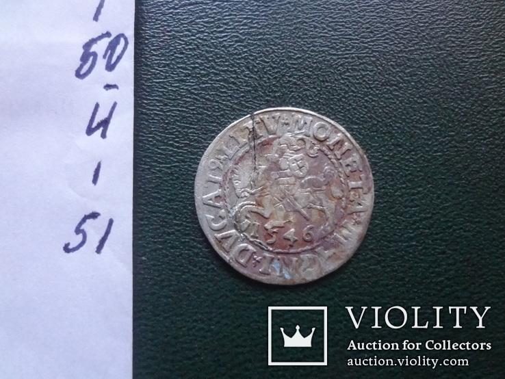 1  полугрош  1546  Польша  серебро (Й.1.51)~, фото №6