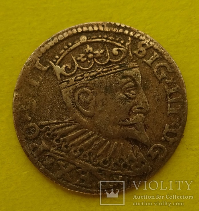 1598 год, 3 гроша, Рига., фото №3