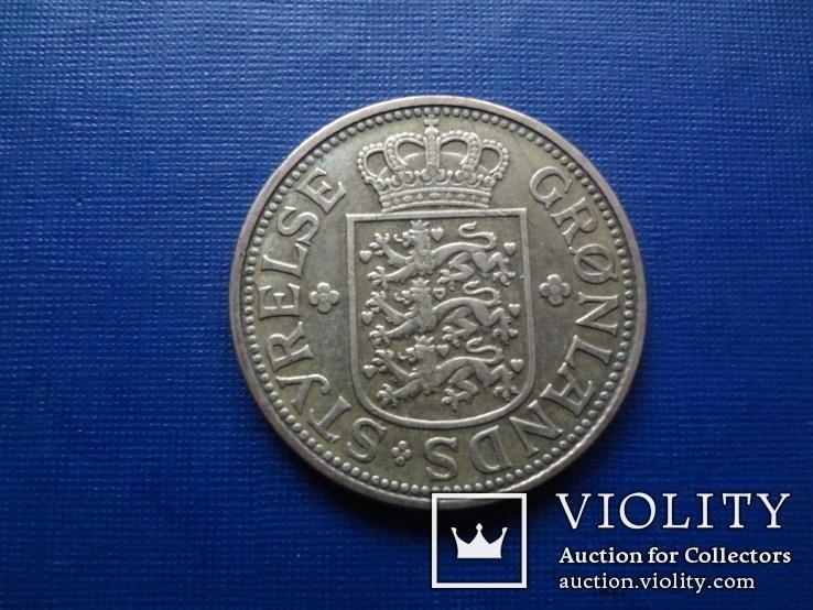 1 крона 1926 Гренландия    (1.5.14)~, фото №3