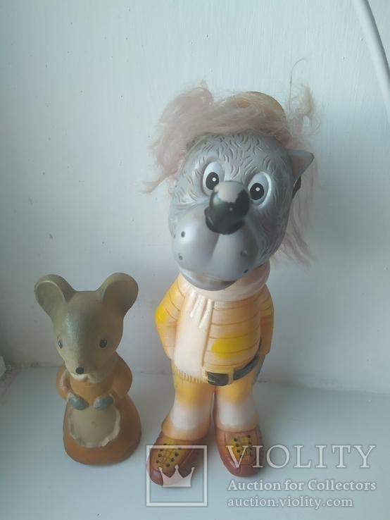 Волк и мышка, фото №2
