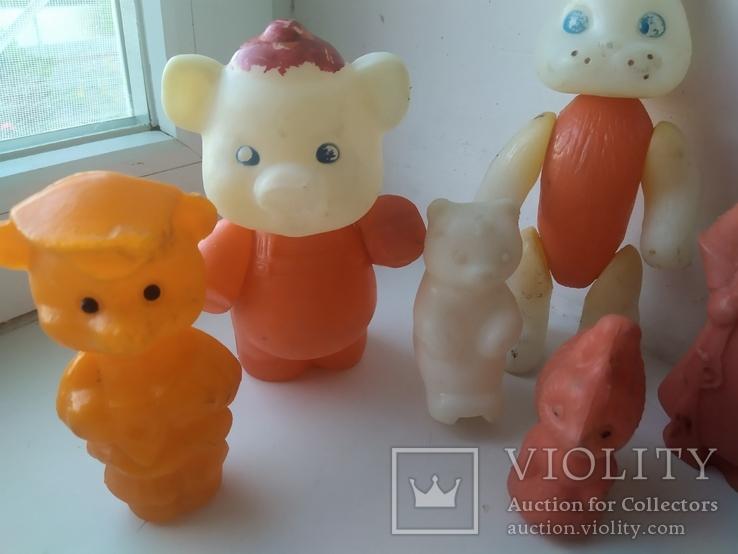 Шесть игрушек (пластмасса), фото №5
