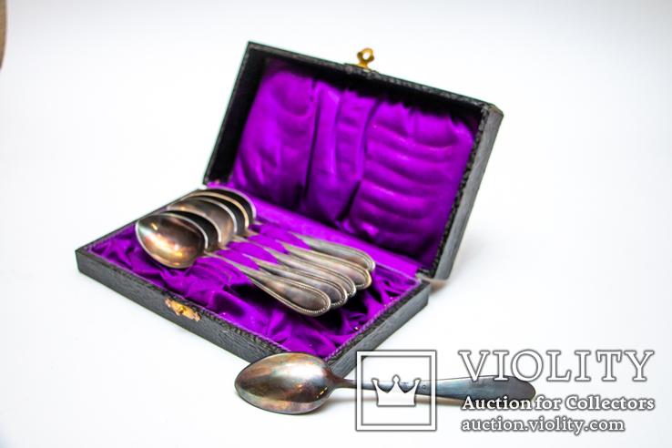Набор чайных ложек  alpacca silber 20, фото №2