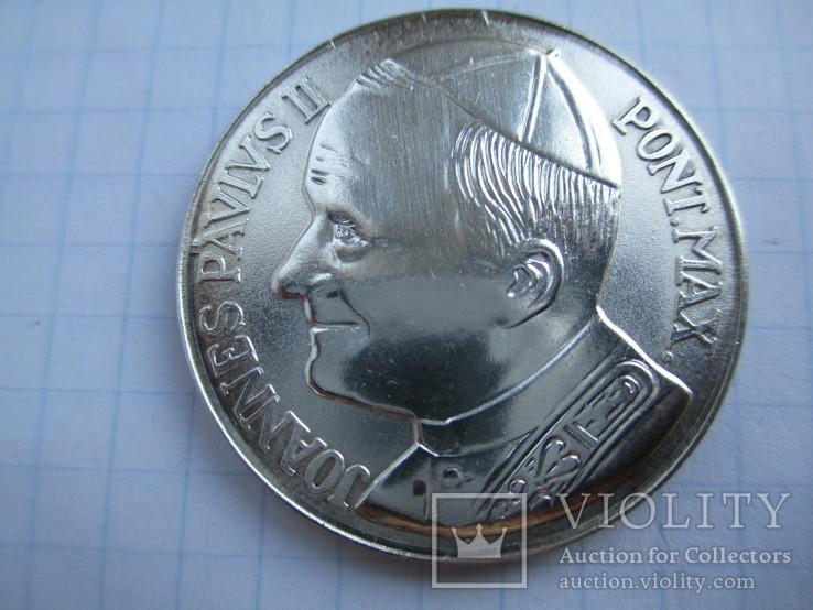 Папа Павло ll.срібло., фото №2