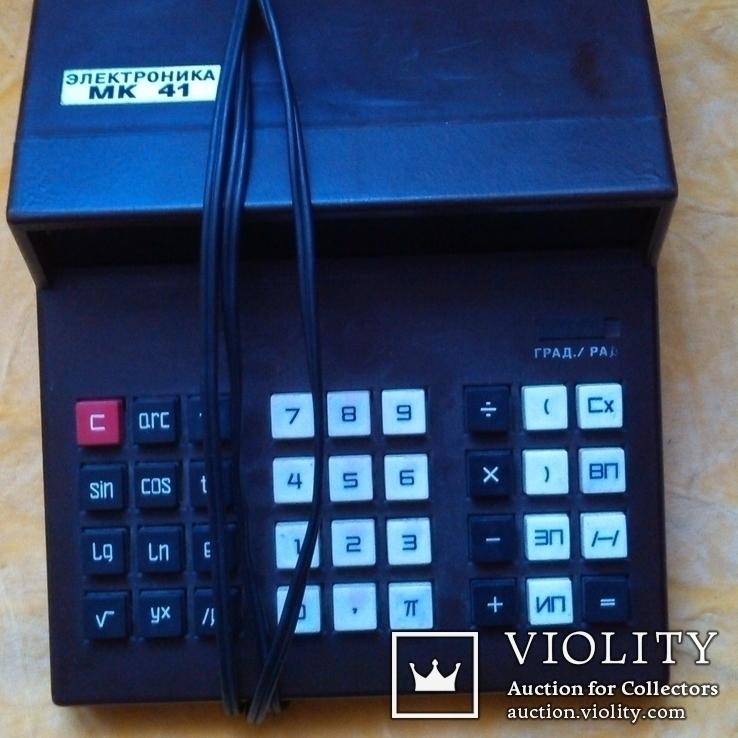 Калькулятор електроника мк41, фото №2