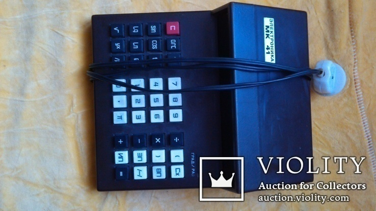 Калькулятор електроника мк41, фото №3