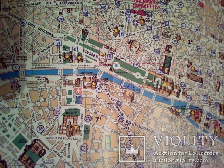Plan de Paris/ Map of Paris, фото №11