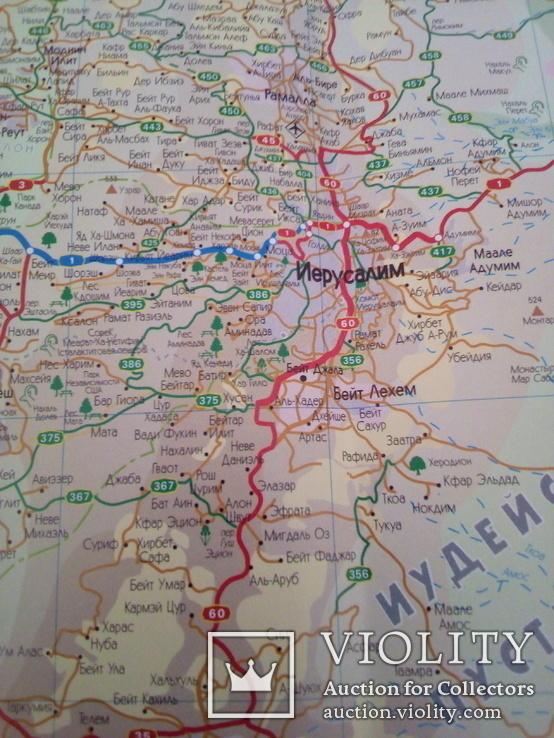 Карта Израиля, изд, Таргет, фото №7